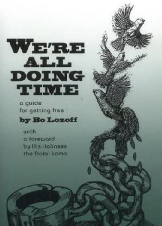 """Cover of the Book """"We're All Doing Time"""""""
